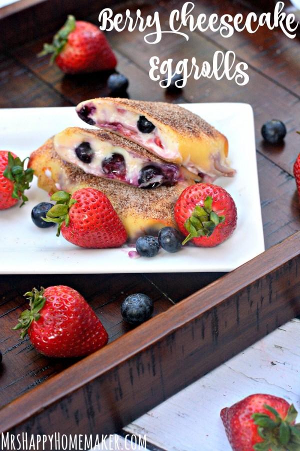 berrycheesecakeeggrolls