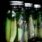 Spicy Garlic Dill Refrigerator Pickles