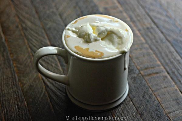 Crockpot Vanilla Lattes - only 3 ingredients needed!