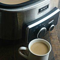 Crockpot Vanilla Latte