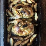Greek Restaurant Style Lemon Garlic Chicken & Potatoes