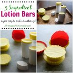 3 Ingredient Lotion Bars