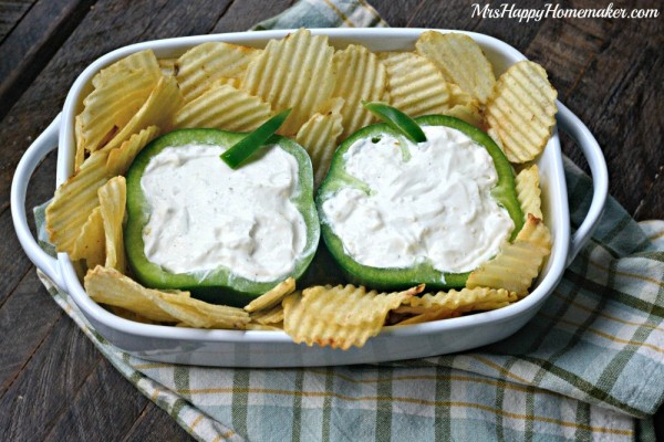 Easy Peasy Shamrock Dip - perfect for Saint Patrick's Day!