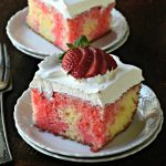 MawMaw Light's Strawberry Poke Cake