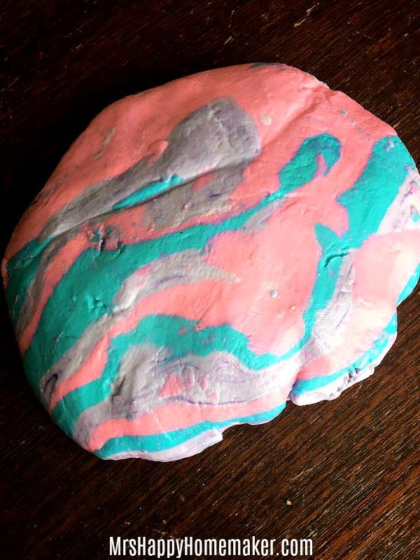 Soap Dough - play dough you can bathe with!