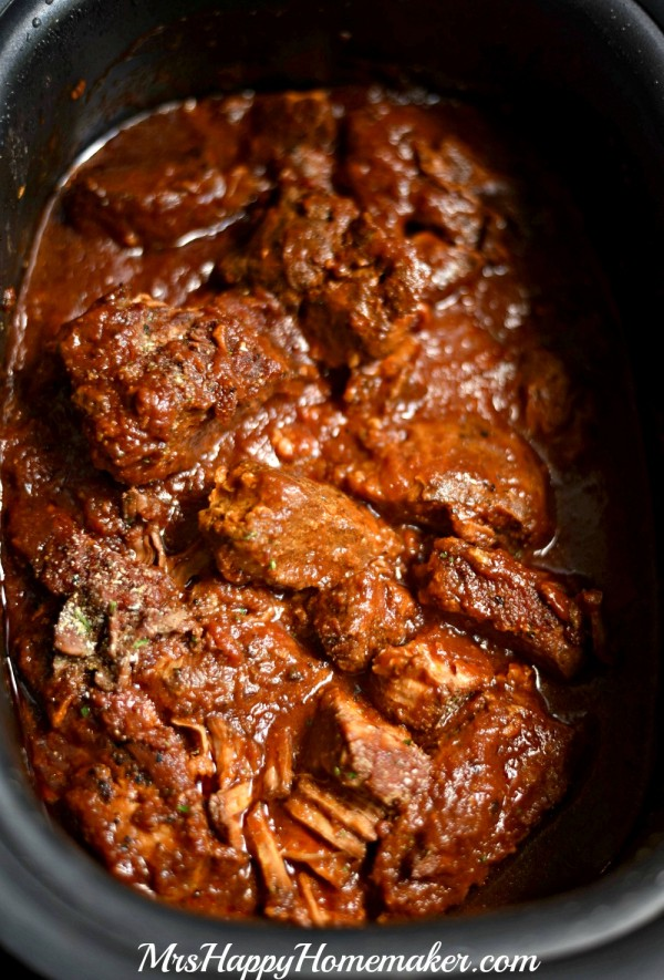 Crockpot Braised Country Style Ribs