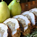 Pear Stuffed Pork Roast