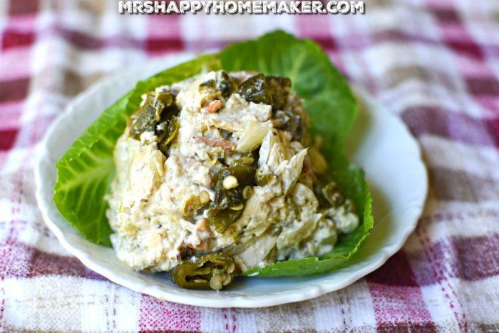 Roasted Jalapeno Chicken Salad