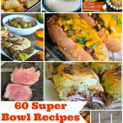 60 Super Bowl Recipes collage