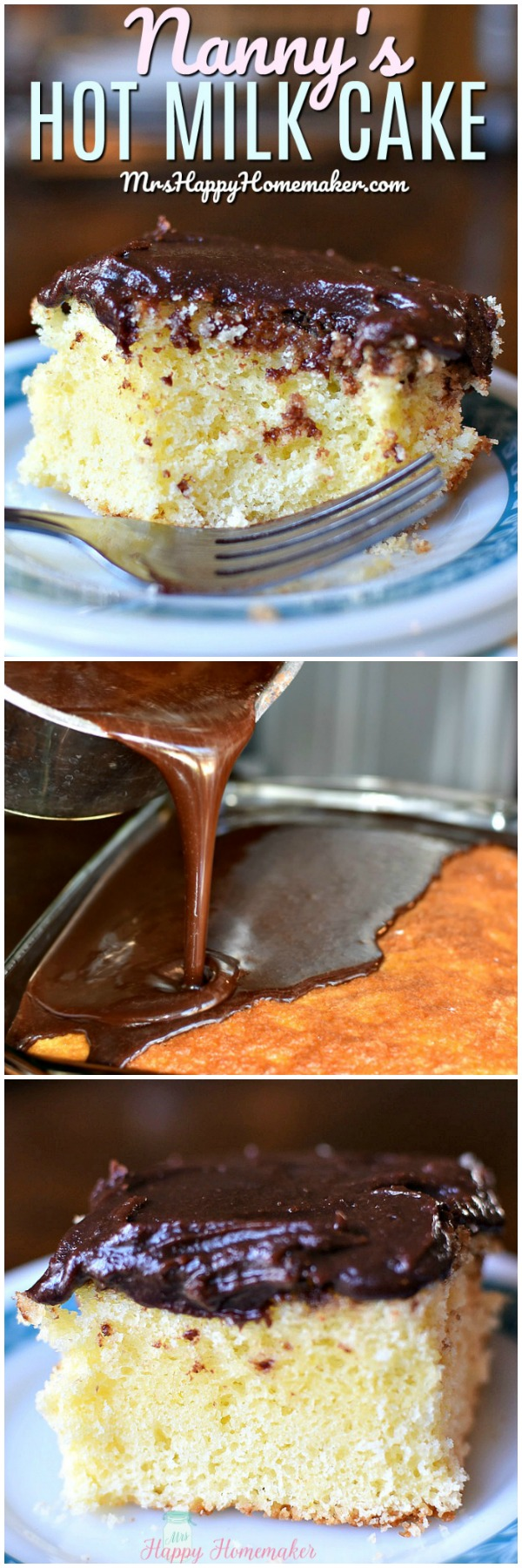 NANNIE'S HOT MILK CAKE