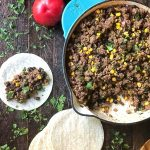 The BEST Taco Filling (great for nachos, burritos, taco salad, & any other Mexican meals too!) MrsHappyHomemaker.com @mrshappyhomemaker
