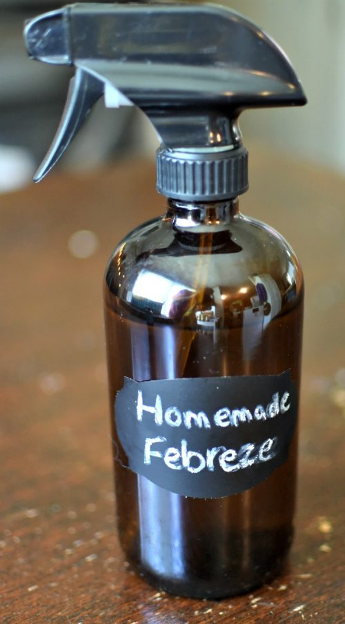 "Homemade ""Febreze"" Fabric & Air"