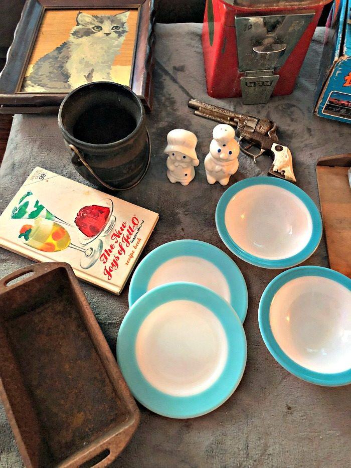 various antiques
