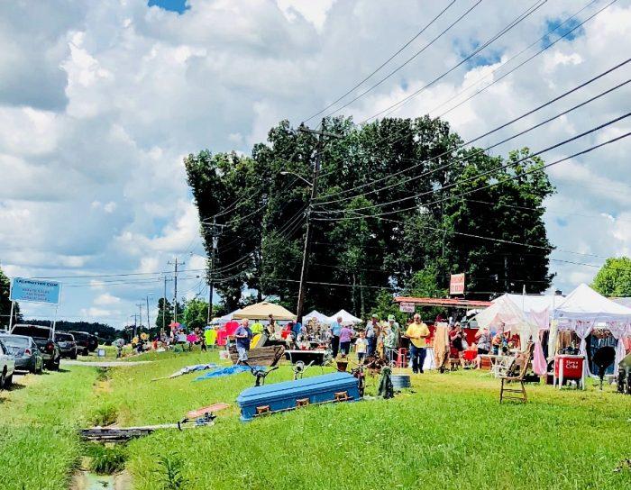 world's largest yard sale