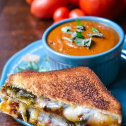 Roasted Jalapeno Grilled Cheese