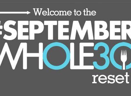 September whole30 reset