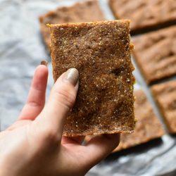 2 Ingredient Cashew Cookie Bars (CopyCat LaraBar)