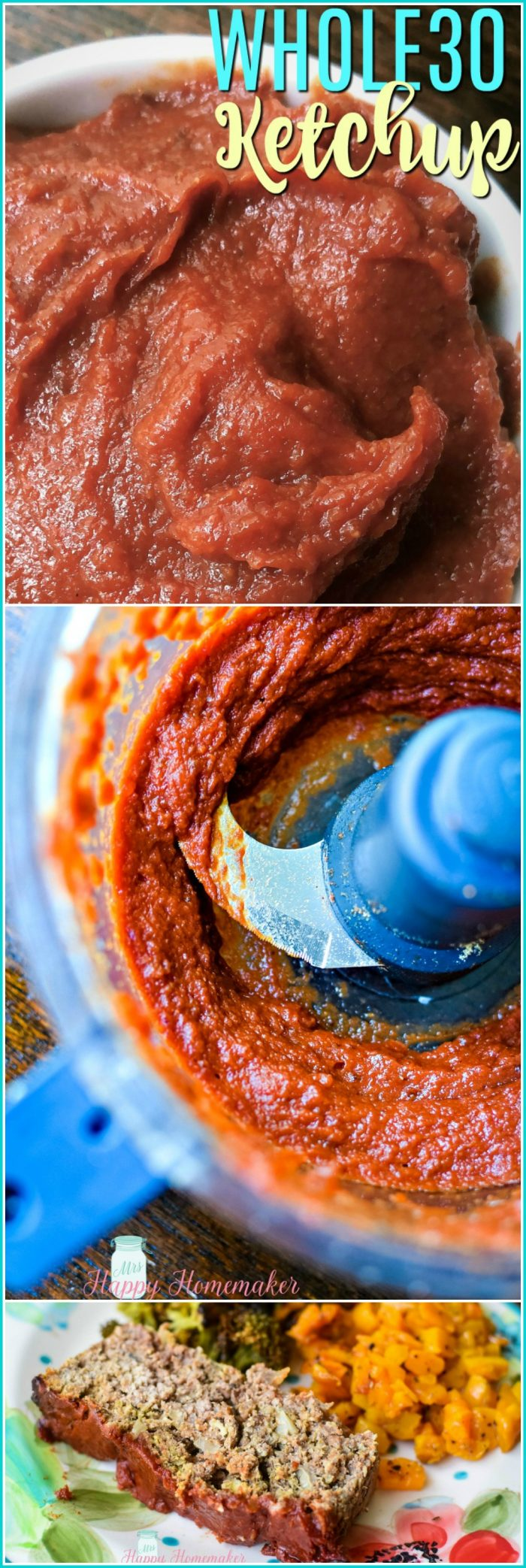 Homemade Whole30 Ketchup | Sugar Free | Paleo