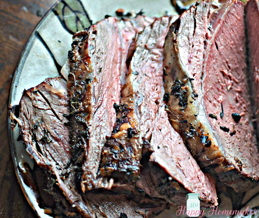 Foolproof Prime Rib | Mrs Happy Homemaker
