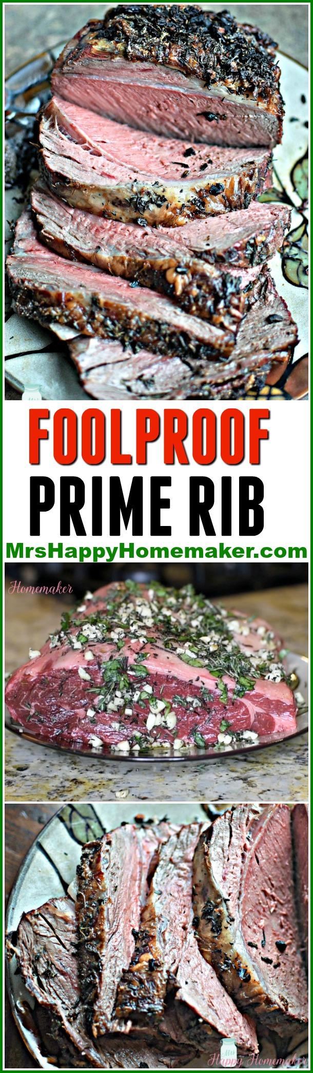 Foolproof Prime Rib | MrsHappyHomemaker.com