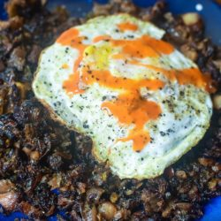 Brussel Sprout Breakfast Hash