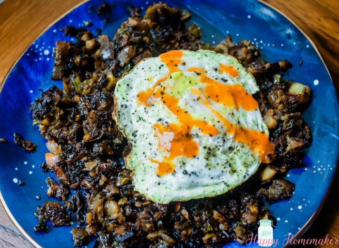 Brussel Sprout Brussel Hash Whole30 Paleo
