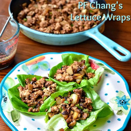 Whole30|Paleo Copycat PF Chang's Lettuce Wraps | MrsHappyHomemaker.com @thathousewife
