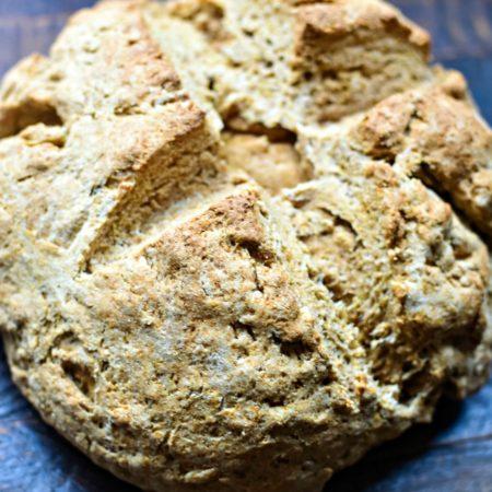 Irish Brown Bread | MrsHappyHomemaker.com