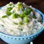 Irish Champ Green Onion Mashed Potatoes | Mrs Happy Homemaker