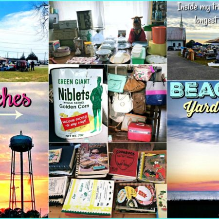 Peaches to Beaches Yard Sale collage