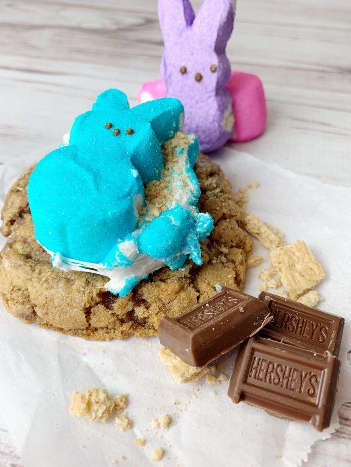 Peeps Smores Cookies