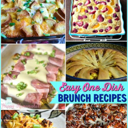 Easy One Dish Brunch Breakfast Recipes