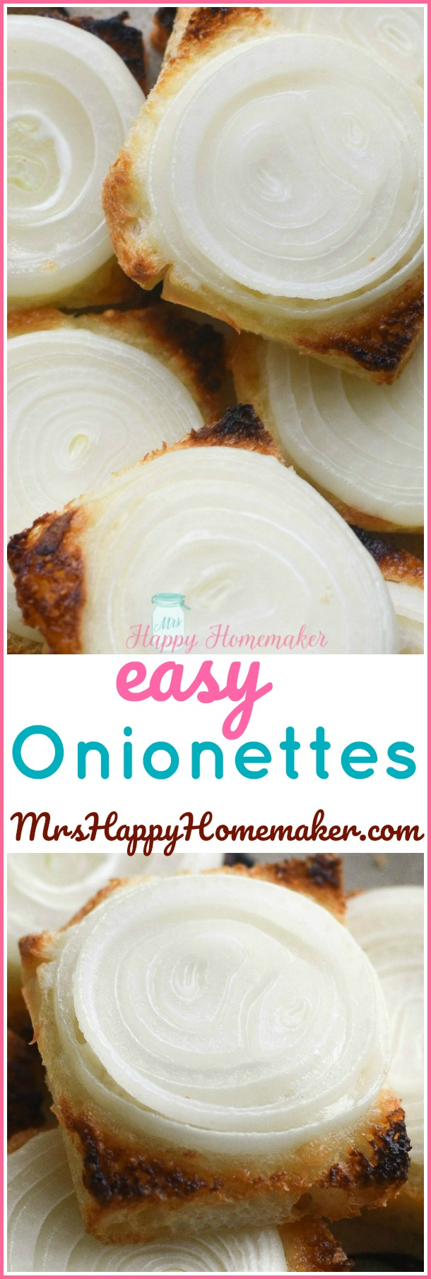 Today I'm sharing with y'all one of my favorite recipes - EASY ONIONETTES. I've been making these regularly for over 20 years. 4 ingredients & just a few minutes is all you need!