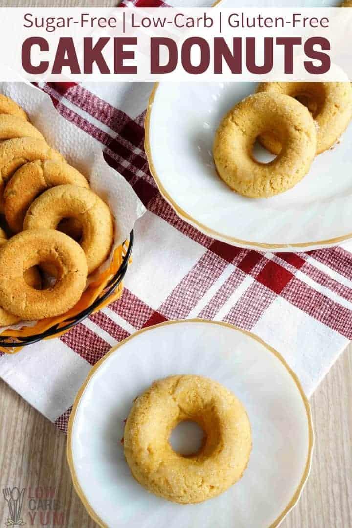 Sugar Free Gluten Free Low Carb Cake Donuts