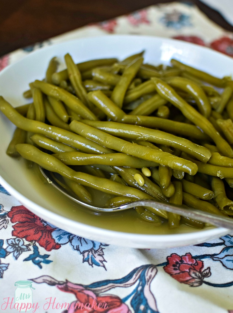 Cooked to Death Green Beans - aka the BEST EVER green bean recipe