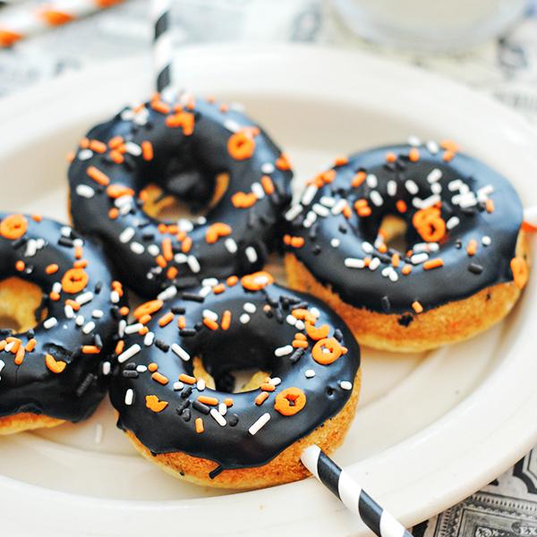 Halloween Funfetti Donut