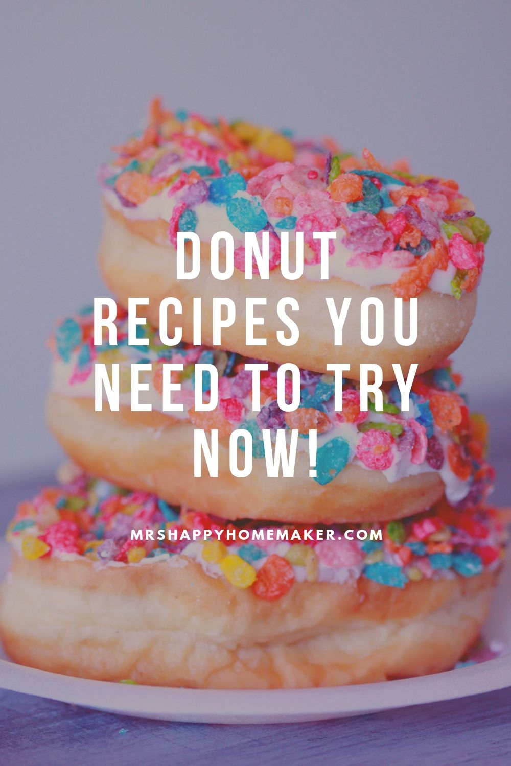 Donut recipes you need to try now