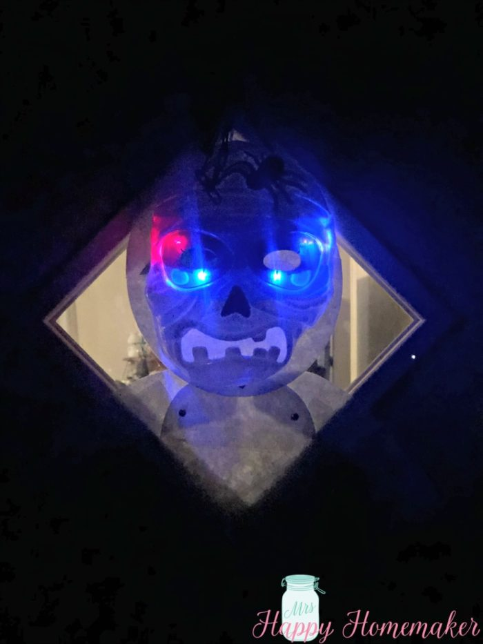 lit up dollar tree mask