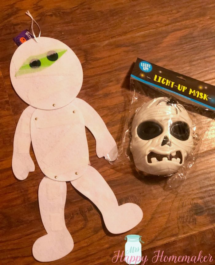 Dollar Store Halloween DIY craft supplies