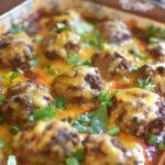 Enchilada Meatball Casserole