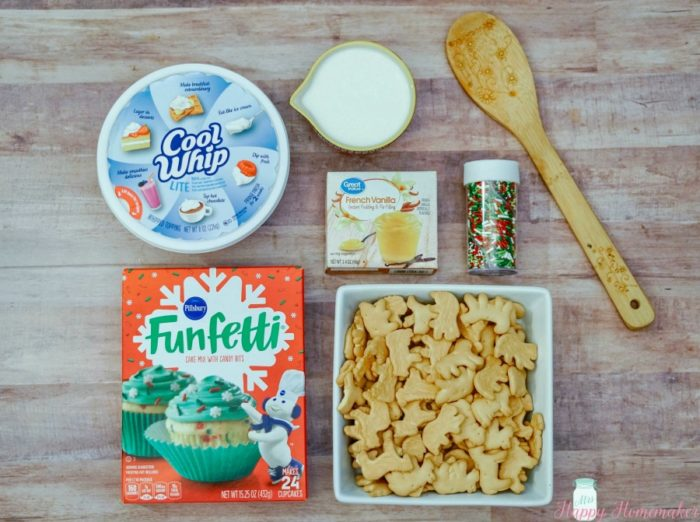 Easy Christmas Cake Batter Dip Recipe