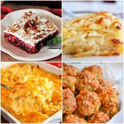 Meal Plan Monday collage of 4 meal ideas