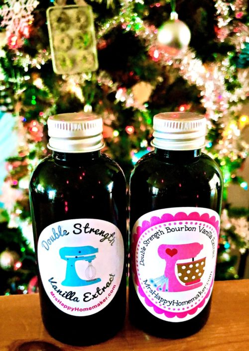 2 bottles of Vanilla Extract