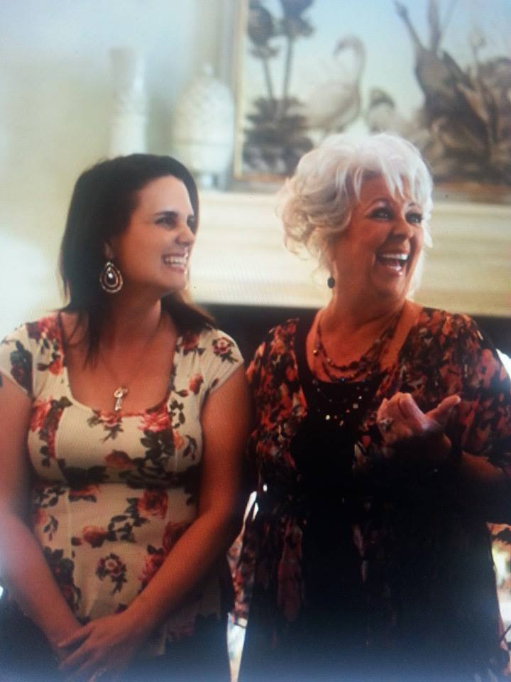 Mrs Happy Homemaker and Paula Deen
