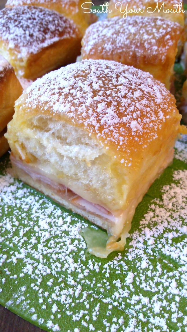 Monte Crisco sandwich party sliders