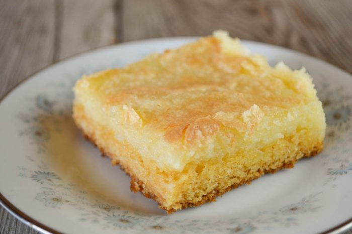 Yellow Cake Mix Gooey Butter Bars
