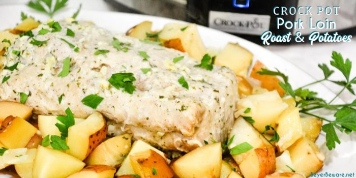 crockpot pork and potatoes