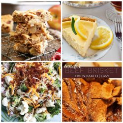 Meal Plan Monday collage of 4 featured recipes