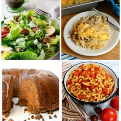 Meal Plan Monday collage of 4 recipes