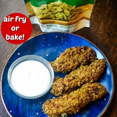 Air Fryer Crispy Jalapeno Chicken Fingers